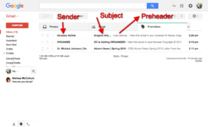 The 3 Components of an Email Subject Line