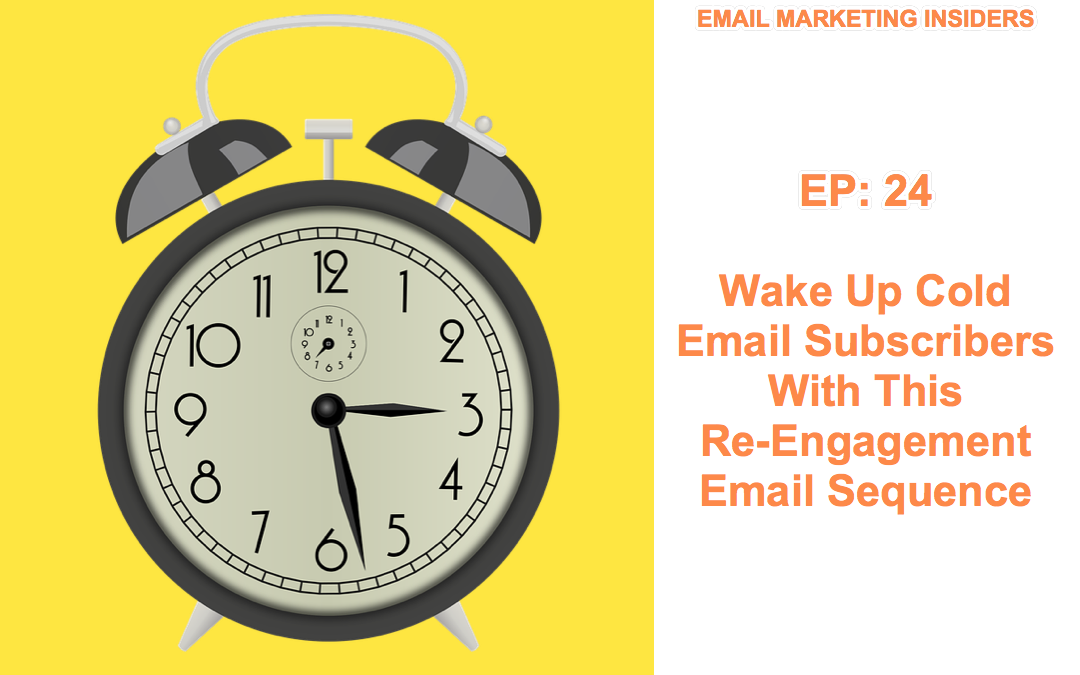 EP 24:  Wake Up Cold Email Subscribers With This Re-Engagement Email Sequence